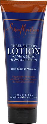 Shea Moisture Men Three Butters Lotion