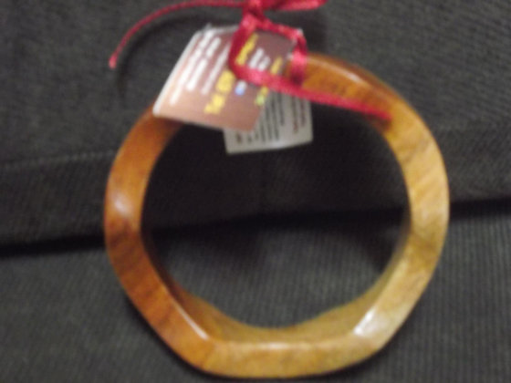 Wooden Bangles with Extra Curves