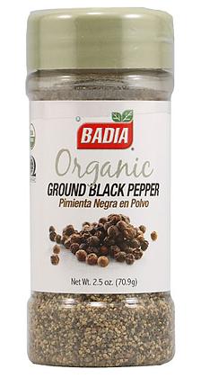 Badia Black Pepper  Powder Organic
