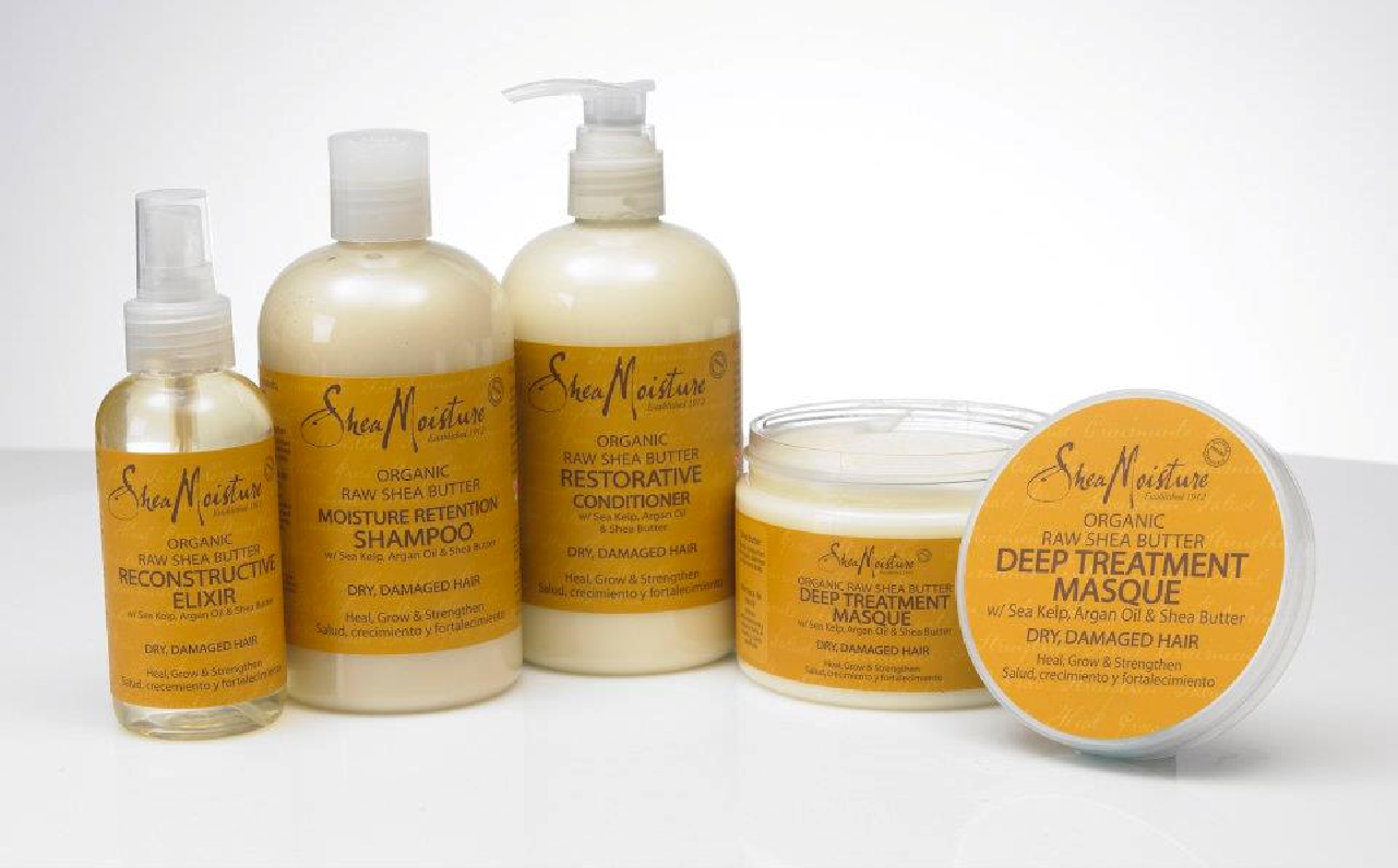 SM Raw Shea Butter Hair Collection