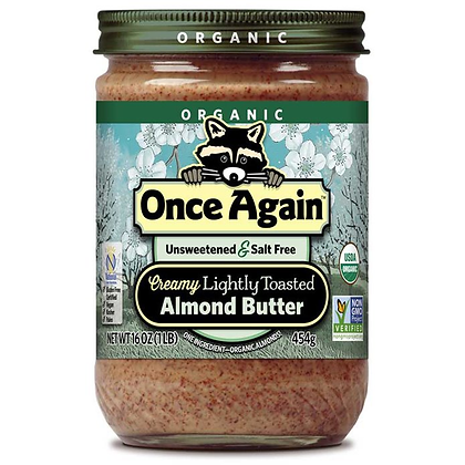 Once Again Almond Butter Organic 16 oz