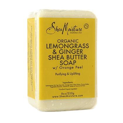 Shea Moisture Lemongrass & Ginger Bar Soap