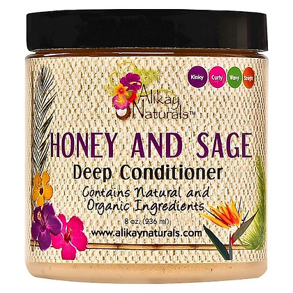 Honey and Sage Deep Conditioner 16 oz