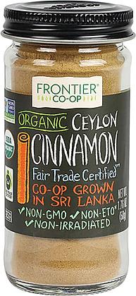 Frontier Co-Op Organic Ceylon Cinnamon Ground