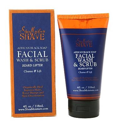 Shea Moisture Facial Wash and Scrub