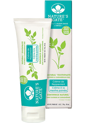 NG Toothpaste Fluoride Free Crème De Peppermint