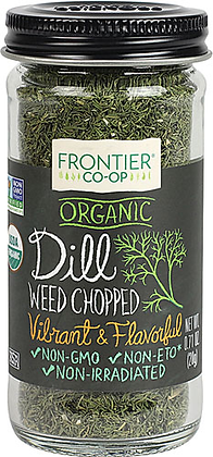 Frontier Co-Op Organic Dill Weed Chopped