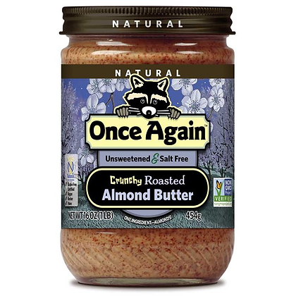 Once Again Creamy Almond Butter Natural 16 oz