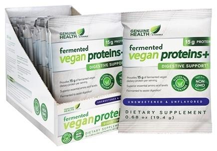 Genuine Health - Fermented Vegan Proteins Singles
