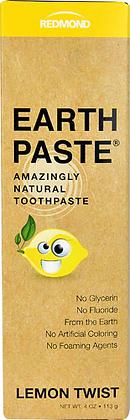 Redmond Earthpaste Toothpaste Lemon Twist
