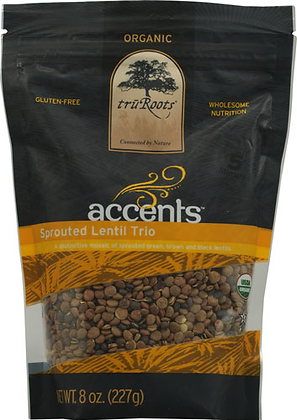 TruRoots Organic Accents Sprouted Lentil Trio