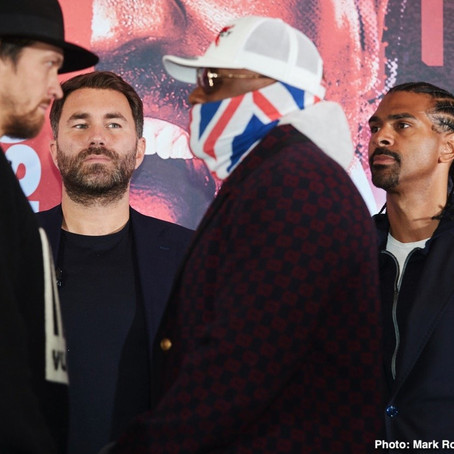 Chisora hoping win over Usyk leads to trilogy against Fury