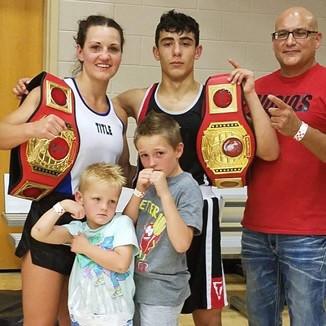 Boxing a family affair for  Idaho amateur boxer Kendra Samargis