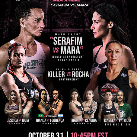 """SFT female strawweight title fight headlines """"SFT 22: The Return"""""""