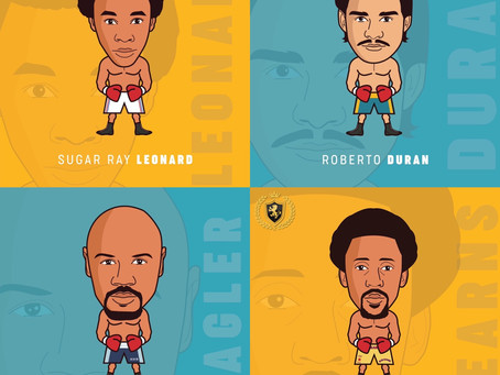 All #Fourkings now complete !!  😉🥊💥