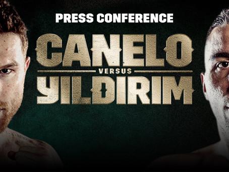 #CaneloYildirim Press Conference