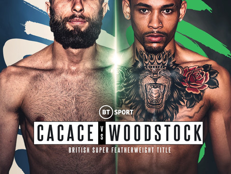 WOODSTOCK PREDICTS 'HAGLER-HEARNS' STYLE CLASSIC AGAINST CACACE