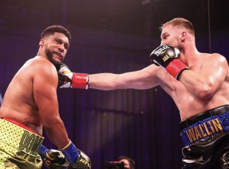 Wallin continues his rise with a win v Breazeale