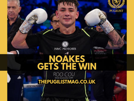 Sam Noakes with the first round KO! #KhademiAhmed 🎥 #BTSport