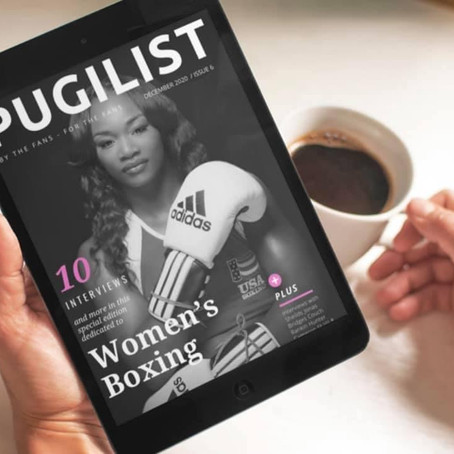 THE PUGILIST MAG WOMEN'S BOXING SPECIAL EDITION .. Click: https://rb.gy/m4osvg