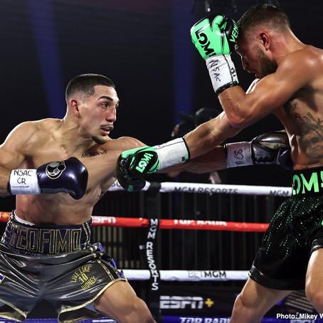 Mikey Garcia: Lomachenko beat weaker & smaller fighters