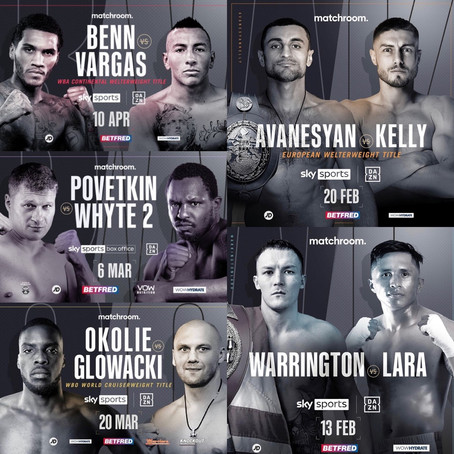 Fight Posters Page Now Updated!