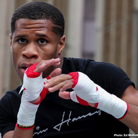 Devin Haney: Lomachenko needs to take his loss and move on