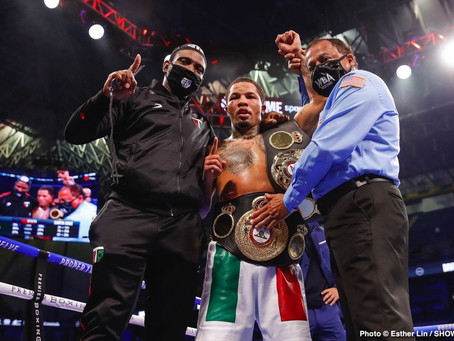 Gervonta Davis announces next fight won't be at 130 or 135