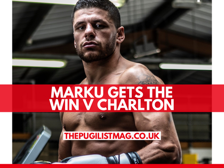 Marku gets the win v Charlton