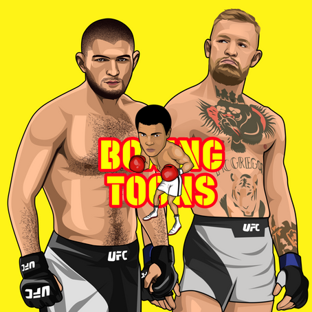Our #MMA Art ..