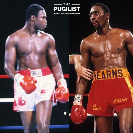 Who had the best Jab?  #LarryHolmes or #TommyHearns ? ....