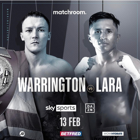 Josh Warrington back in action 13th February.