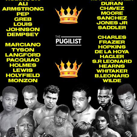 Who are the Greatest 5-10 Boxers ever ?