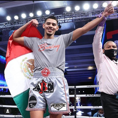 Split-T Management's Diego Pacheco Remains Perfect with 2nd round Stoppage in Mexico City
