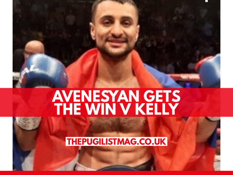 Avanesyan gets the win v Kelly