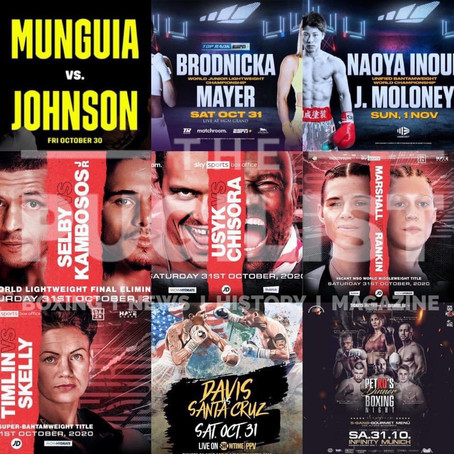 Which fight are you most looking forward to? ...