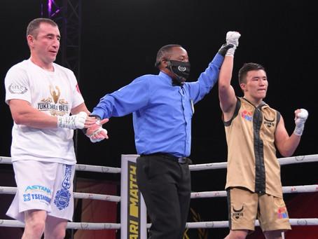 TALGAT SHAYKEN TELLS EVGENO PAVKO: LET THE BEST MAN WIN!