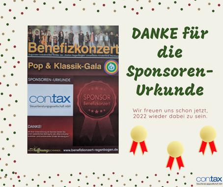 Sponsoring Benefizkonzert
