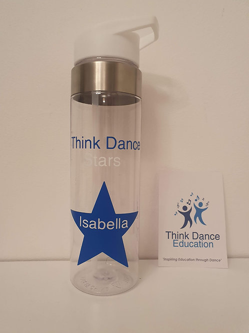 Think Dance Stars Water Bottle