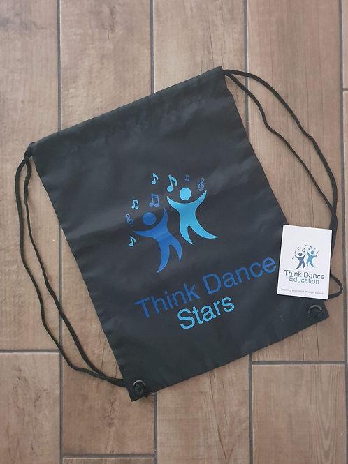 Think Dance Stars Shoe Bag