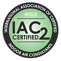 IAC2 Certified in Air Quality Testing