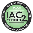IAC2 Certified Radon Testster