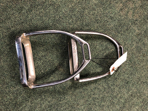 FH08 Stainless Stirrup Irons 4 3/4""
