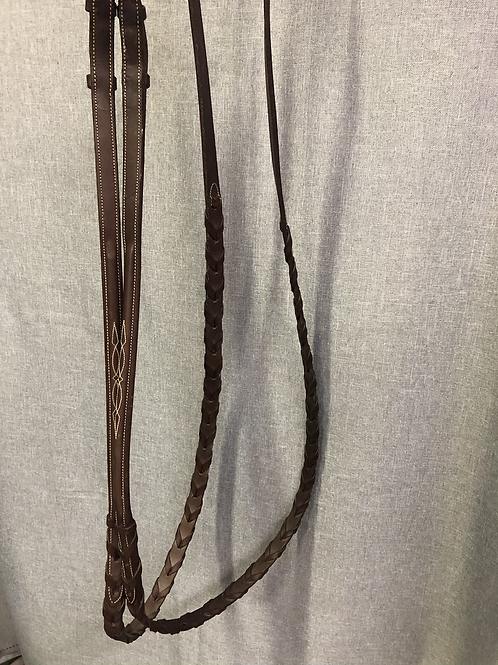 CB04 CWD Hunter Bridle and Laced Reins size 3
