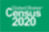 2020 Logo_Census 2020_Reversed_Green_Pre