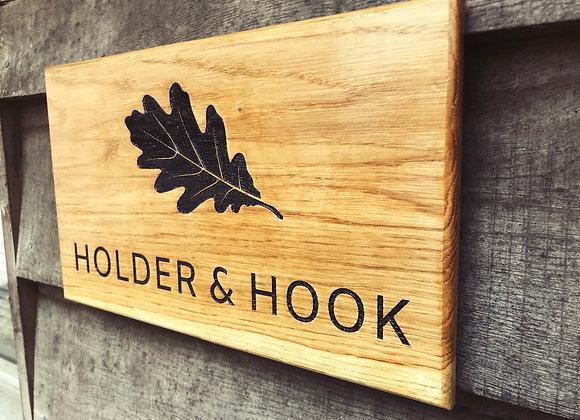 Oak House Signs