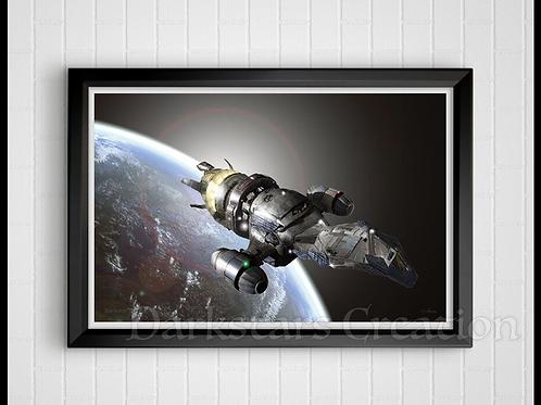 Firefly Leaving Earth