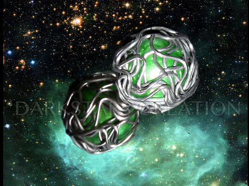 The Queens Orb Ship Earrings - Star Trek Fan - Borg Jewelry