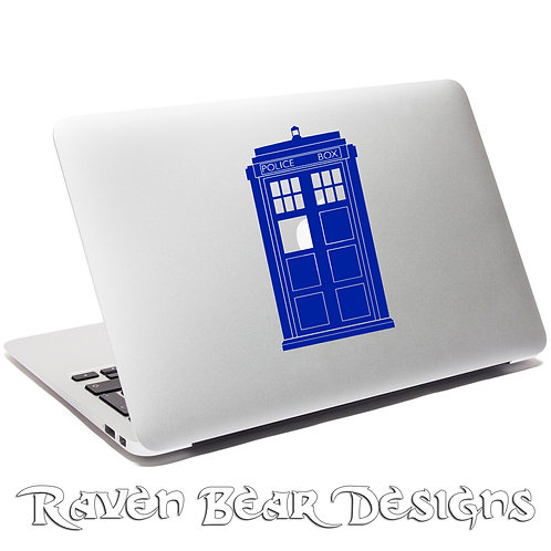 Dr. Who Tardis - Laptop or Car Decal
