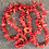 Thumbnail: Natural Ocean Coral - Drilled Pieces - Bracelet or Neaklace Making